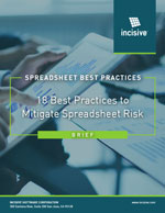 18 spreadsheet best practices brief