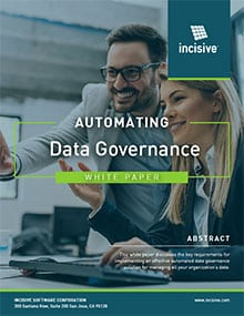 Automating Data Governance - White Paper