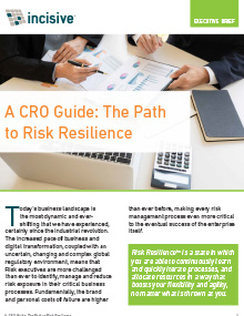 Risk Intelligence Guide for CROs and Risk Executives